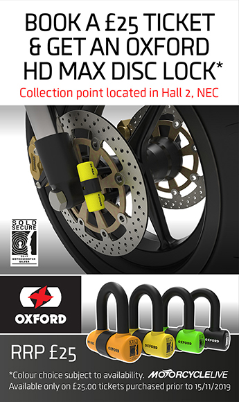 Oxford HD MAX Disc Lock