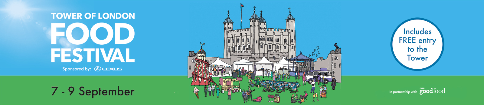 Hampton Court Food Festival